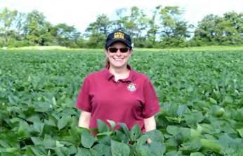 Heidi in field